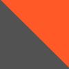 Gris Oscuro - Naranja Fluo (23-28)