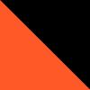 Naranja Fluo - Negro (28-10)